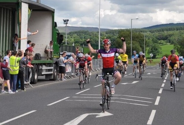 Adam Greally wins final stage at Tour of Omagh to claim third overall in the three-day race