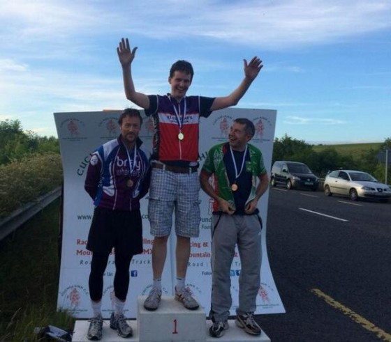 Fergal May wins gold at Leinster 25 mile TT championship