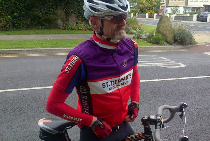 Going where no man has gone before; Spiderman base-layer under current kit jersey.