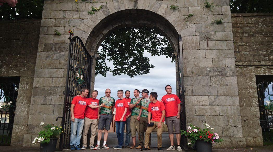 St Tiernan's Race Around Ireland team 2016, Castle Arch Hotel, Trim, County Meath
