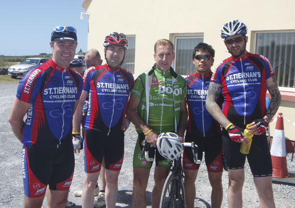 St. Tiernans Cycling Club & Sean Kelly Tour de Burren 2012