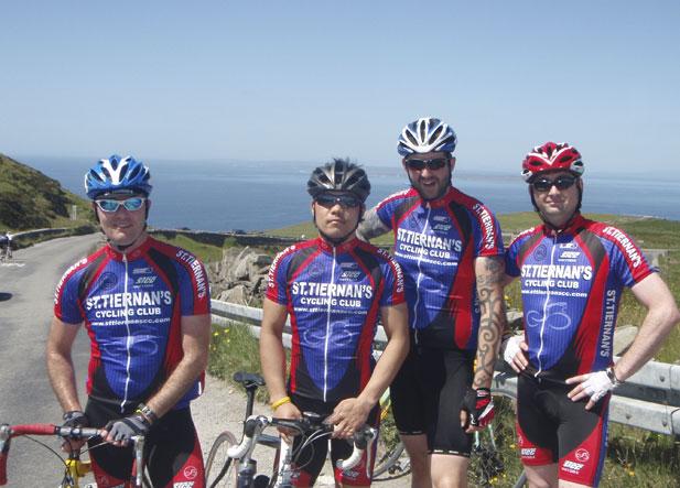 Brian, Tuk, Brendan & Barry - Tour de Burren 2012