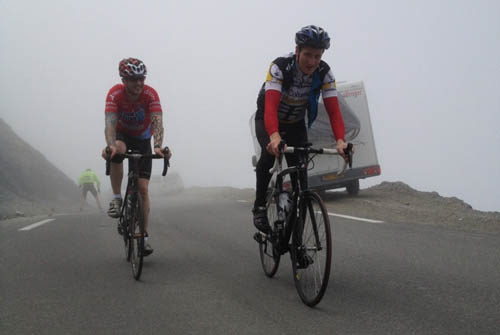 Brendan & Dave at the Tourmalet
